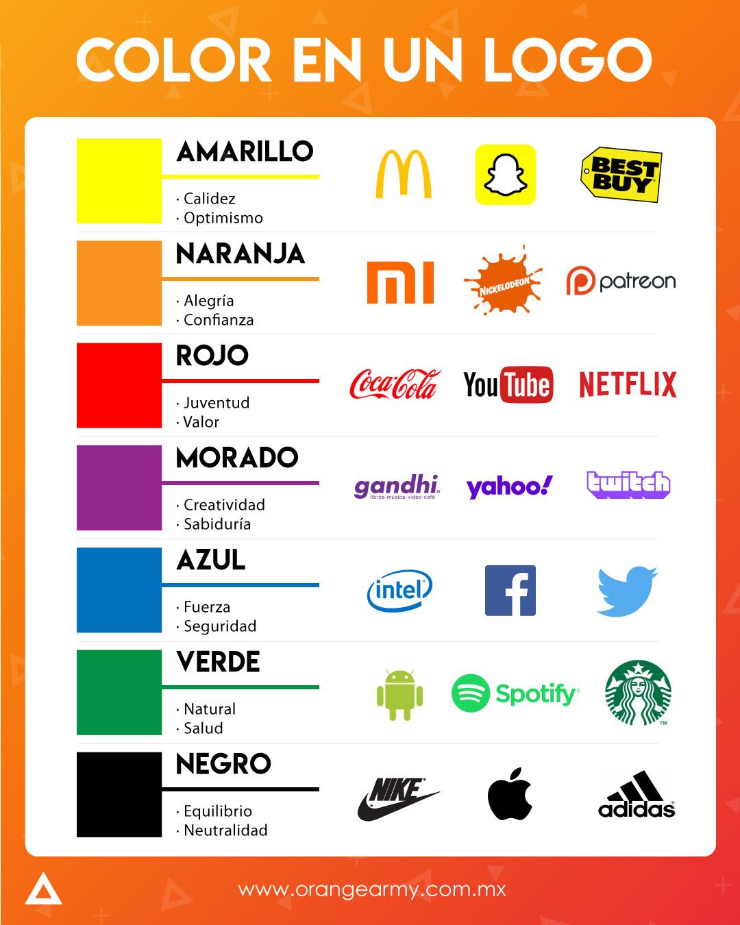Color en logo