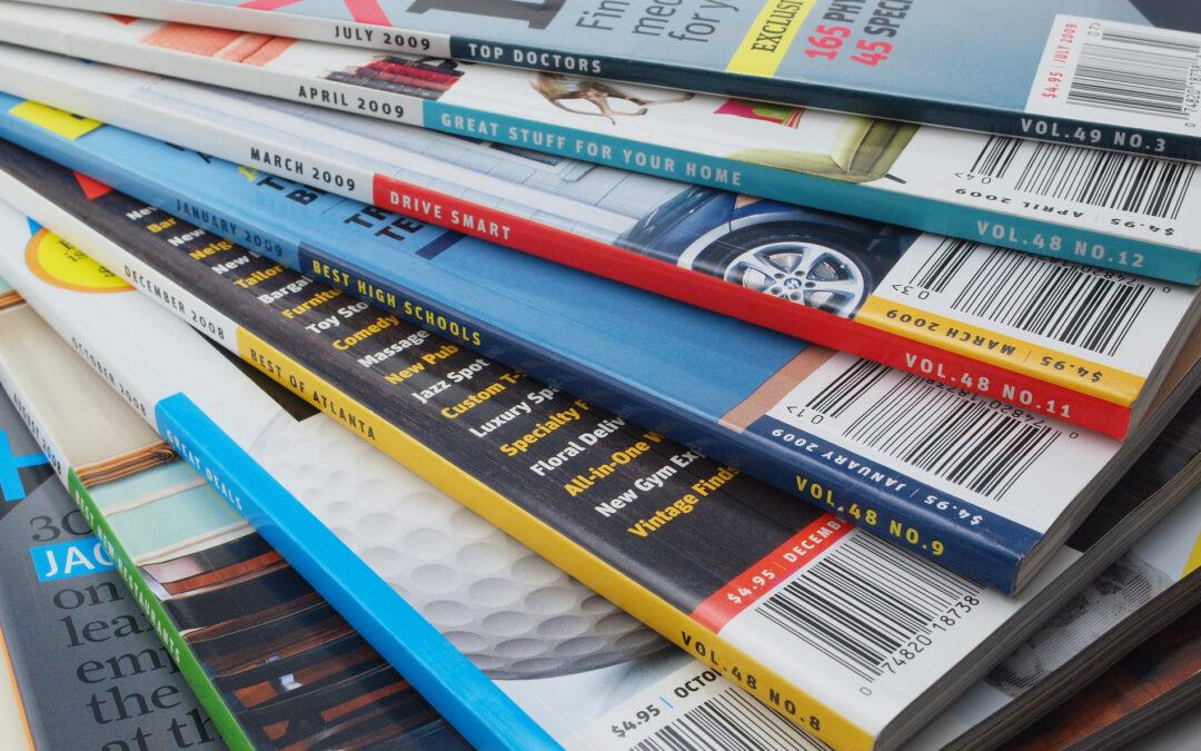 diseño editorial revistas